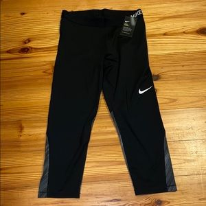 Nike Black Pro Cool Dri-Fit Leggings, XL, $45 NWT